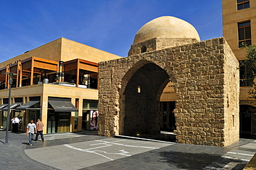 Historic mausoleum in the new Beirut Souks complex, Beyrouth, Lebanon, Middle East, West Asia