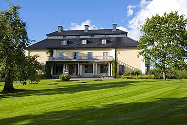 Selma Lagerloef's place of birth, MÃ'rbacka, Sunne, Vaermland, Sweden, Europe