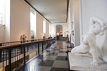 Sculpture of a muse in the Konsthallen Museum of Art, Gothenburg, Vaestragoetalands laen, Sweden, Europe