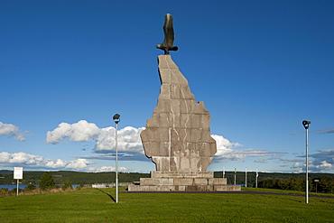 Stamfraende Monument, Sunne, Vaermland, Sweden, Europe