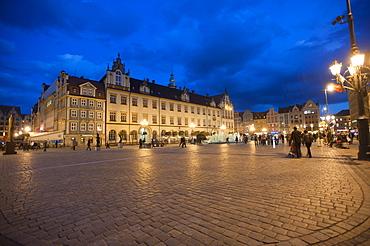 Rynek, Market Square, Wroclaw, Lower Silesia, Poland, Europe