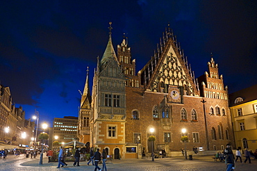 Town hall, Wroclaw, Lower Silesia, Poland, Europe