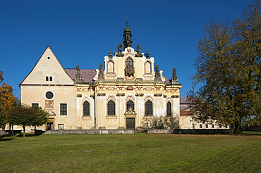 Sv. Anny chapel, Mnichovo Hradiste, Czech Republic, Europe
