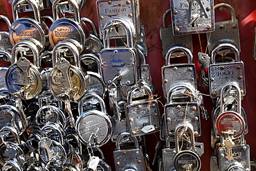 Padlocks, Haldwani, Uttarakhand region, northern India, India, Asia