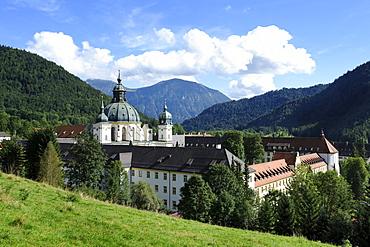 Ettal Abbey, monastery church, Upper Bavaria, Bavaria, Germany, Europe