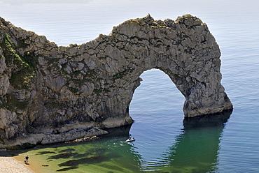 Durdle Door Arch, Lulworth, Dorset, southern England, England, United Kingdom, Europe