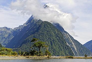 Mitre Peak, Milford Sound, South Island, New Zealand