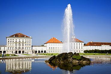 Nymphenburg Palace, Munich, Upper Bavaria, Bavaria, Germany, Europe