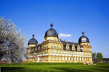 Seehof Palace, Memmelsdorf, Franconia, Bavaria, Germany, Europe