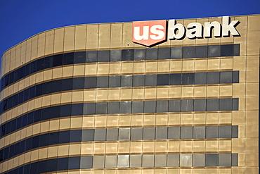U.S. Bank logo, Salt Lake City, Utah, United States of America, America