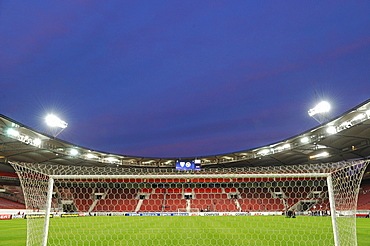 2010 completed Untertuerkheimer fan block of VfB Stuttgart at the Mercedes-Benz Arena, Stuttgart, Baden-Wuerttemberg, Germany, Europe