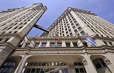 Wrigley Building, Chicago, Illinois, United States of America, USA, North America