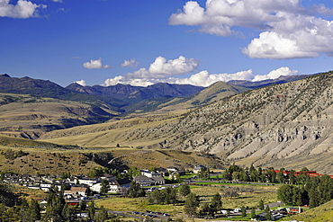 Hotels, Mammoth Hot Springs, Yellowstone National Park, Idaho, Montana, Wyoming, America