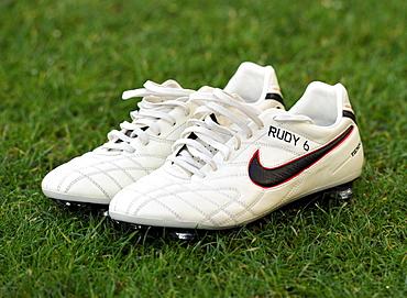 Football boots of Sebastian RUDY, TSG 1899 Hoffenheim football club