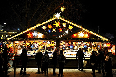 Christmas market, Stuttgart, Baden-Wuerttemberg, Germany, Europe