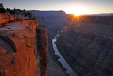 Morning Mood, Grand Canyon North Rim, Toroweap Point, Arizona, USA, America