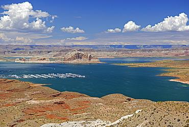 Lake Powell, Wahweap Marina, Arizona, USA