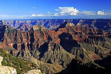 Sunset at Bright Angel Point, Grand Canyon, North Rim, Arizona, USA