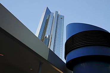 Deutsche Bank, Frankfurt am Main, Hesse, Germany, Europe