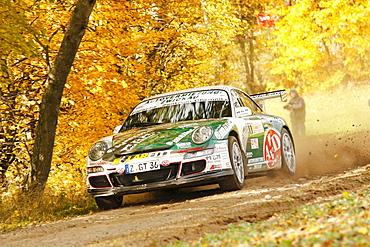 Porsche 996 911 GT3 RS, Rallye Stehr Rallyesprint 2010, Hesse, Germany, Europe