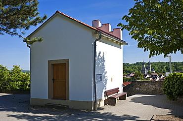 Wengerthaeusle building, Bruchsal, Kraichgau, Baden-Wuerttemberg, Germany, Europe