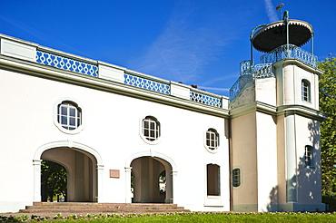 Belvedere Shooting House, Bruchsal, Kraichgau, Baden-Wuerttemberg, Germany, Europe