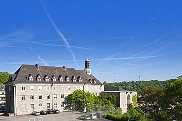 Sankt Paulusheim private high school, Bruchsal, Kraichgau, Baden-Wuerttemberg, Germany, Europe
