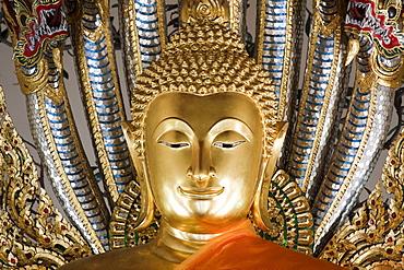 Buddha statue, Wat Po Temple, Thailand, Asia