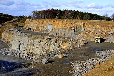 Stone pit, Beden, SkÂne, Sweden, Europe