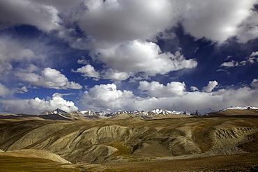 Mountain landscape, Pamir mountain range, Tajikistan, Central Asia