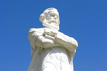 Statue of Marx, Bishkek, Kyrgyzstan, Central Asia