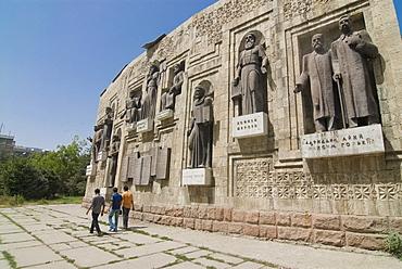 Writers Union Building, Dushanbe, Tajikistan, Central Asia