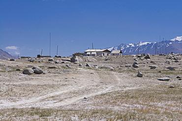 Karakul village, Pamir Mountains, Tajikistan, Central Asia