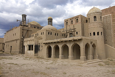 Film set of the Nomad movie, Kazakhstan, Central Asia