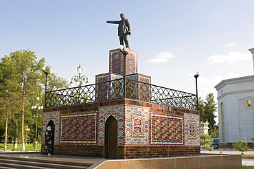 Statue of Lenin, Ashgabat, Turkmenistan, Central Asia