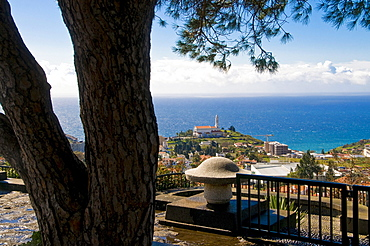 View over city of Funchal, Madeira, Portugal, Europe