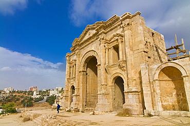 Historic ruins of Jerash, Gerasa, Jordan, Middle East