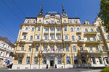 Luxury hotel, Marianske Lazn&, Marienbad, Czech republic, Europe
