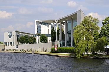 Federal Chancellery, Spreebogen, Berlin, Germany, Europe
