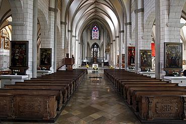 Interior, Augsburg Cathedral, Augsburg, Bavaria, Germany, Europe