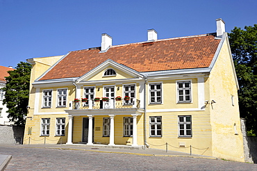 Historic town centre, Embassy of the Federal Republic of Germany, Tallinn, formerly Reval, Estonia, Baltic States, Northern Europe