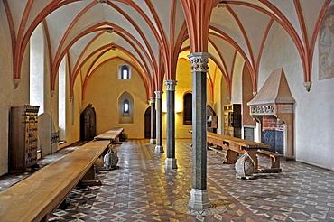 Konventsremter, Malbork Castle, formerly Marienburg Castle, the seat of the Grand Master of the Teutonic Knights, Malbork, Mazury, Poland, Europe