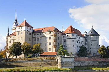 Schloss Hartenfels castle, Torgau, Landkreis Nordsachsen county, Saxony, Germany, Europe