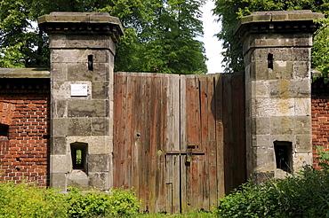 Devensive barracks Brueckenkopf, Torgau, Landkreis Nordsachsen county, Saxony, Germany, Europe