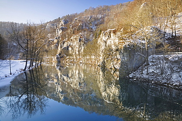 Naturpark Obere Donau nature park, Swabian Alb, Baden-Wuerttemberg, Germany, Europe