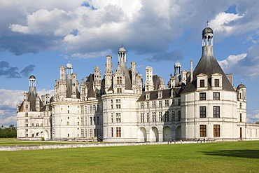 Chateau de Chambord, department of Loire et Cher, Centre region, France, Europe