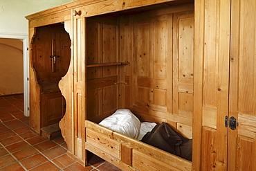 Room in Charterhouse Aggsbach, Wachau, Mostviertel, Lower Austria, Austria, Europe