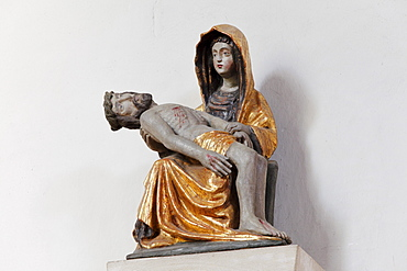 Pieta in the Parish Church, Weissenkirchen in the Wachau, Waldviertel, Lower Austria, Austria, Europe