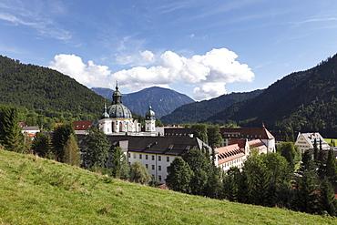Ettal Abbey, Upper Bavaria, Bavaria, Germany, Europe