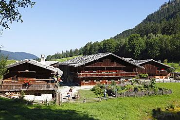 Museum village, Markus Wasmeier Farm and Winter Sports Museum, Schliersee, Mangfall Mountains, Upper Bavaria, Bavaria, Germany, Europe